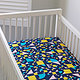 Unison Shapes Crib Sheets