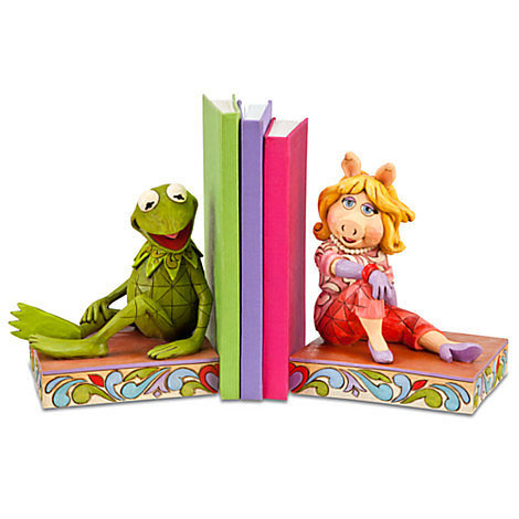 Kermit and Miss Piggy Bookends