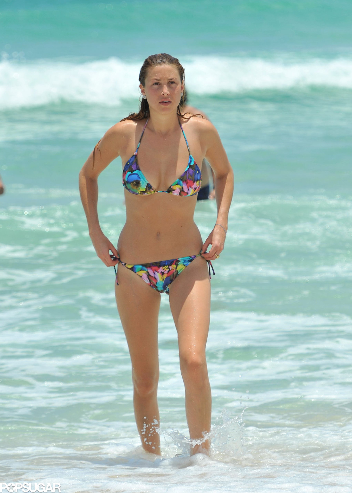 Whitney Port wore a bikini for a July 2011 jaunt to Miami.