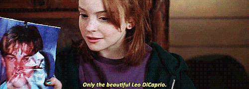 Plus, Leonardo DiCaprio exists, so that's awesome.