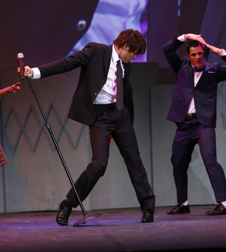Then he did Hairspray in 2007 and showed off these hip-shaking moves.