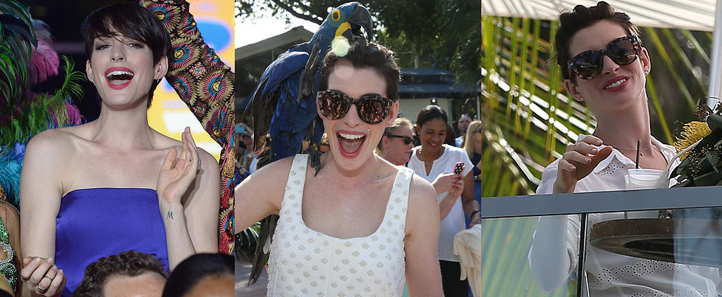 Anne Hathaway's Formula For Taking Miami by Storm