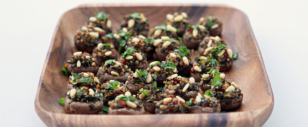 Vegetarian Stuffed Mushrooms Meat Eaters Will Love!