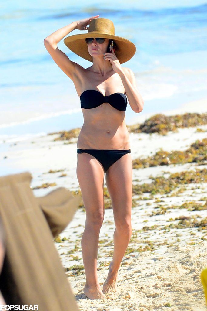 Heidi Klum Takes Her Bikini Body to the Bahamas