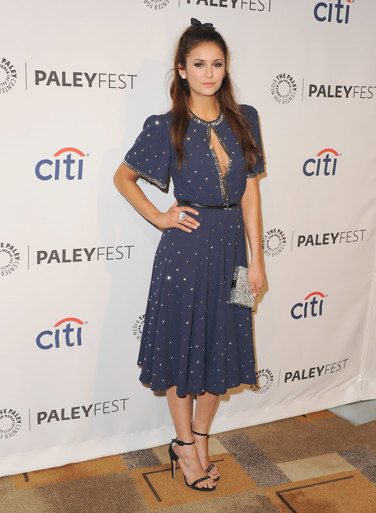 And Nina Dobrev in a sweet dress!