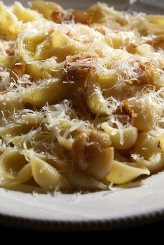 Roasted Garlic and Parmesan Pasta