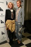 Sarah-Jane Clarke and Heidi Middleton at Autumn 2013 London Fashion Week