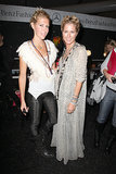 Sarah-Jane Clarke and Heidi Middleton at Fall 2008 New York Fashion Week