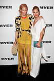 Sarah-Jane Clarke and Heidi Middleton at the Myer Spring/Summer 2011 Launch