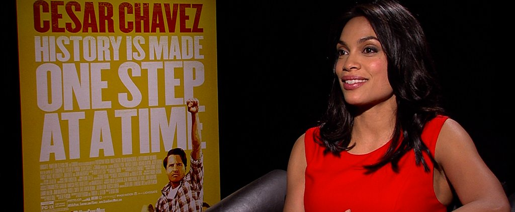 What Has Rosario Dawson Feeling So Grateful?