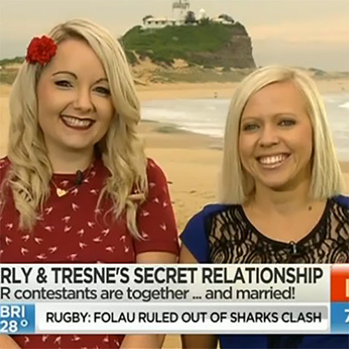 My Kitchen Rules' Carly and Tresne Explain Relationship