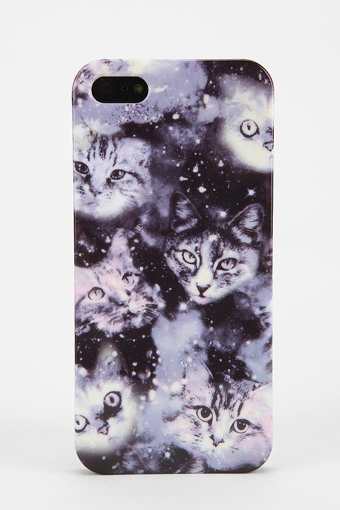 This cosmic cats iPhone 5/5s case ($16) is equal parts creepy and cool.