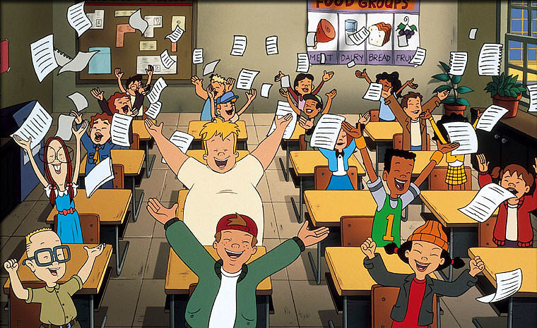 The kids from the cartoon Recess would all be 26 now.