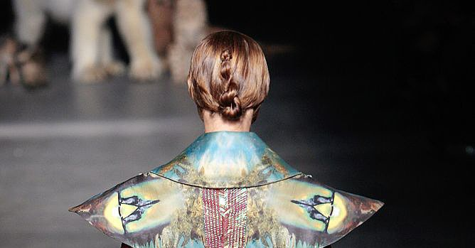 Paris Fashion Week: Alexander McQueen Spring 2009
