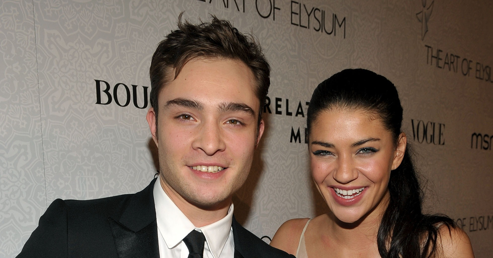 ed westwick and jessica szohr wwwimgkidcom the image