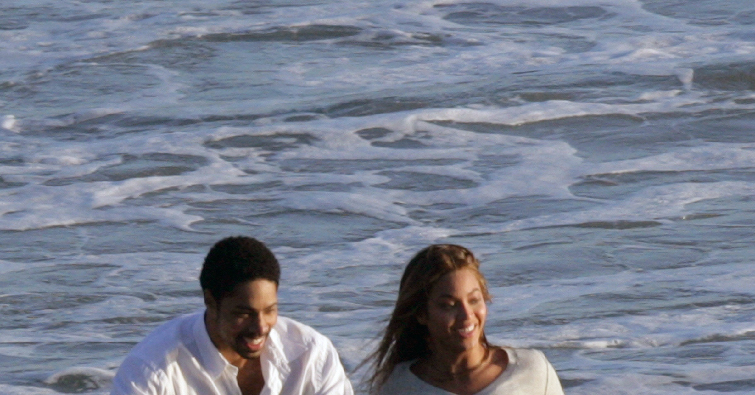 Beyonce Knowles Hits the Beach. . . and Oscar Stage