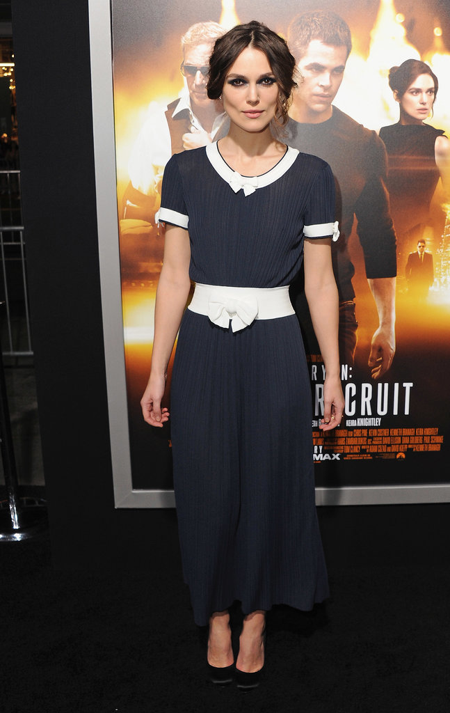 Keira Knightley at the Jack Ryan: Shadow Recruit LA Premiere