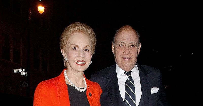 2007, with her husband