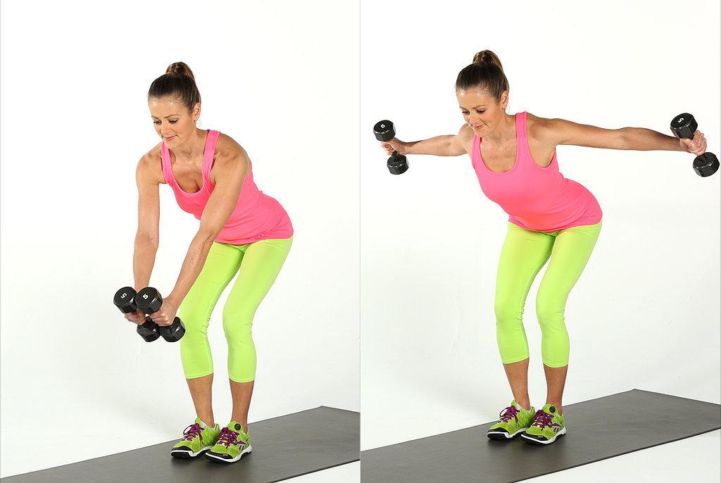 锻炼部位:背部,肩部,三头肌