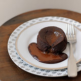 Molten Chocolate Cakes With Caramel Sauce Recipe