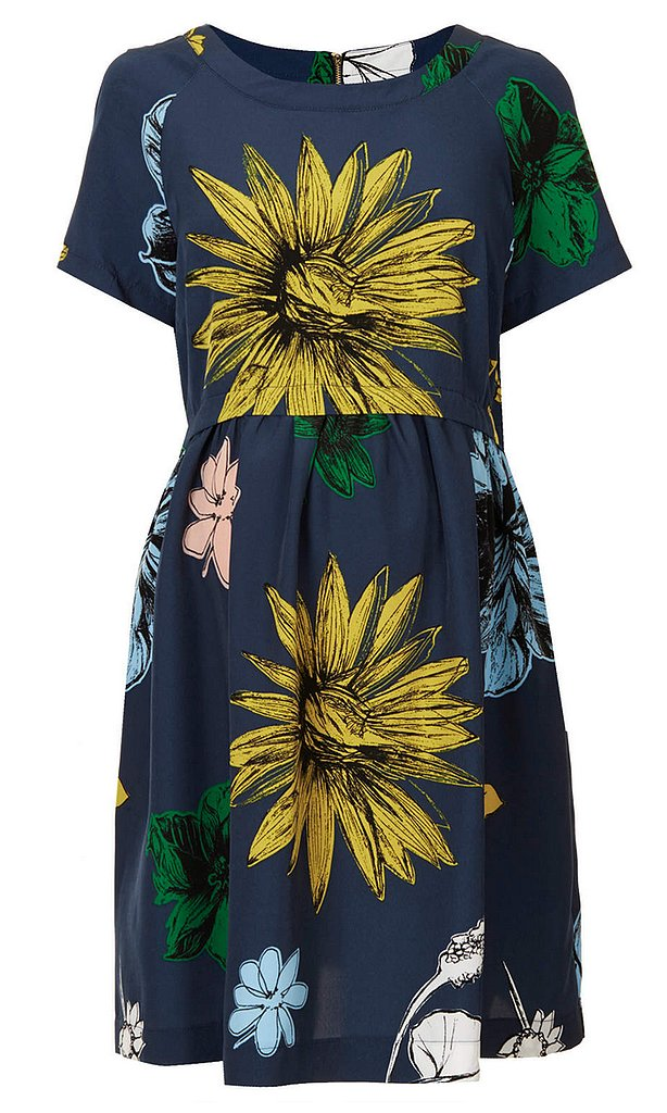 Topshop Maternity Flower Smock Dress