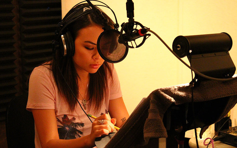 Exclusive: We Go Behind the Scenes of PLL Star Janel Parrish's Newest Project