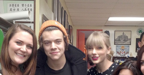 Harry styles new tattoo taylor swift joins one direction star as he
