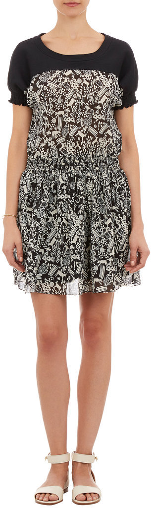 Sea black-and-white deer-print dress ($398)