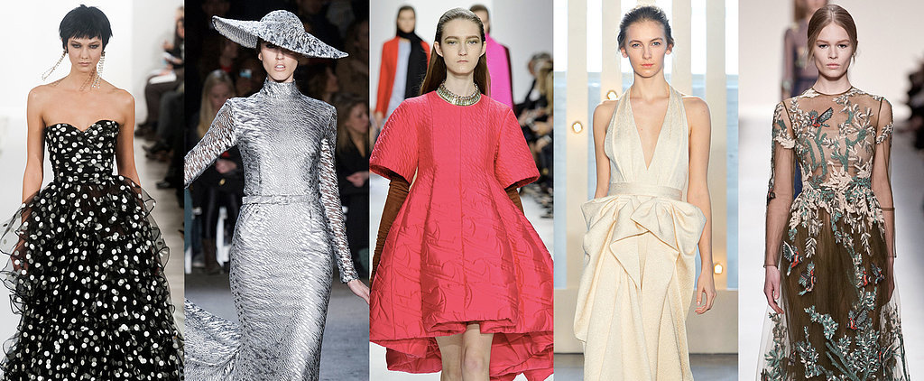 100 of the Prettiest Fashion Week Dresses