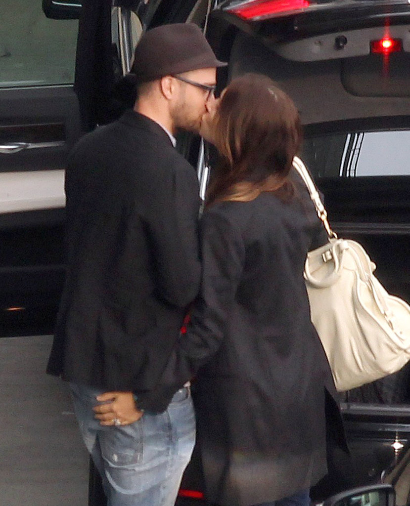After their romantic trip to Barbados, Jessica Biel and Justin Timberlake showed their love in London.
