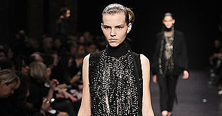 Ann Demeulemeester Finds a Little Glam for her Spring 2009 Girl