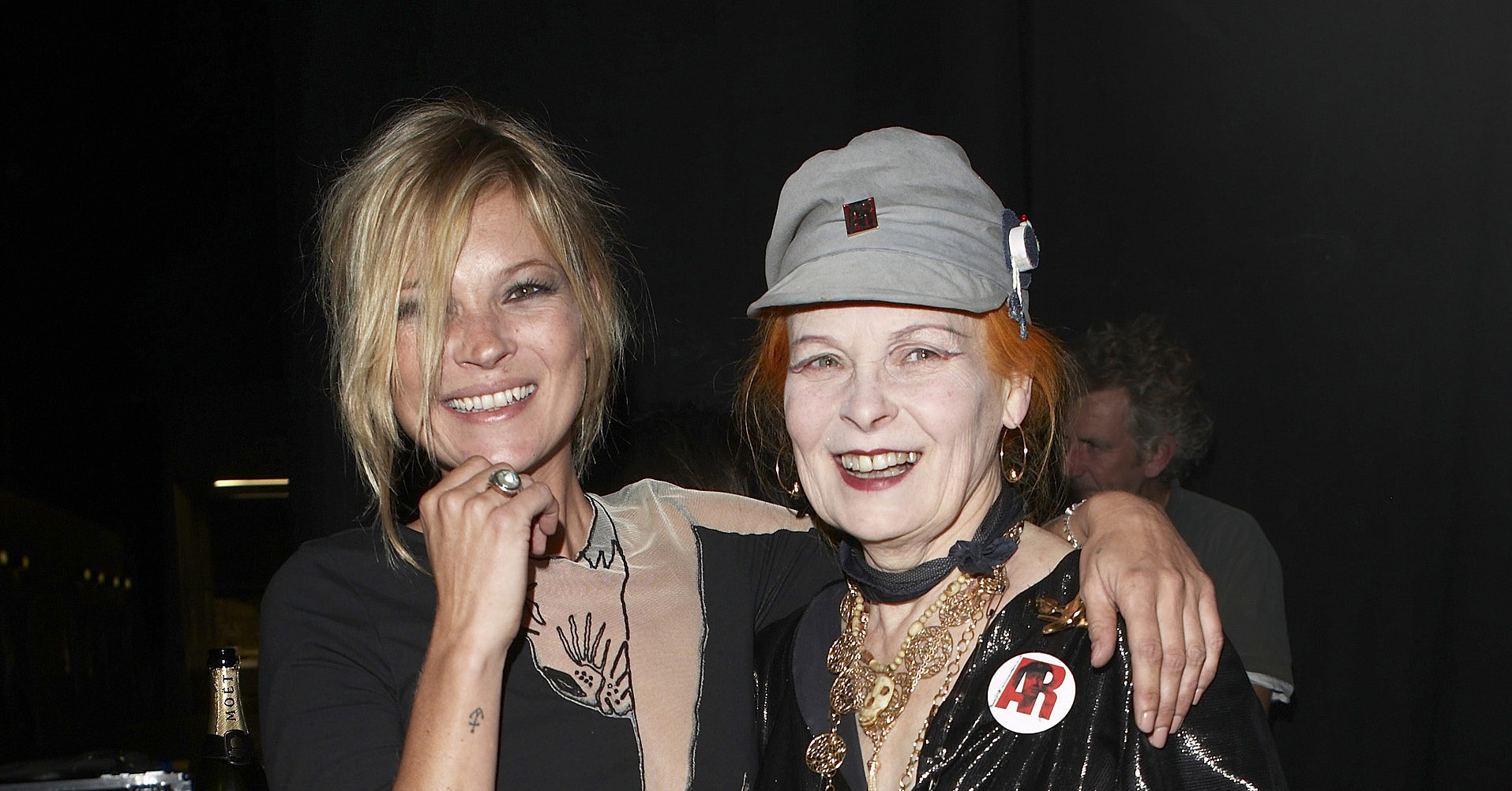 Kate Moss Pops In at Vivienne Westwood Spring 2009