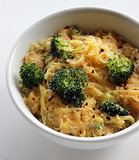 Friday: Spaghetti Squash Mac and Cheese