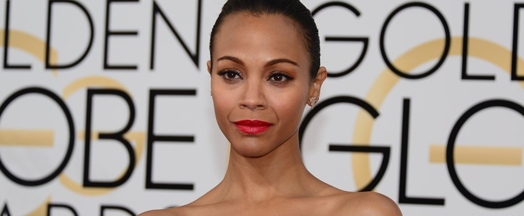Guess Which Beauty Brand Snagged Zoe Saldana?