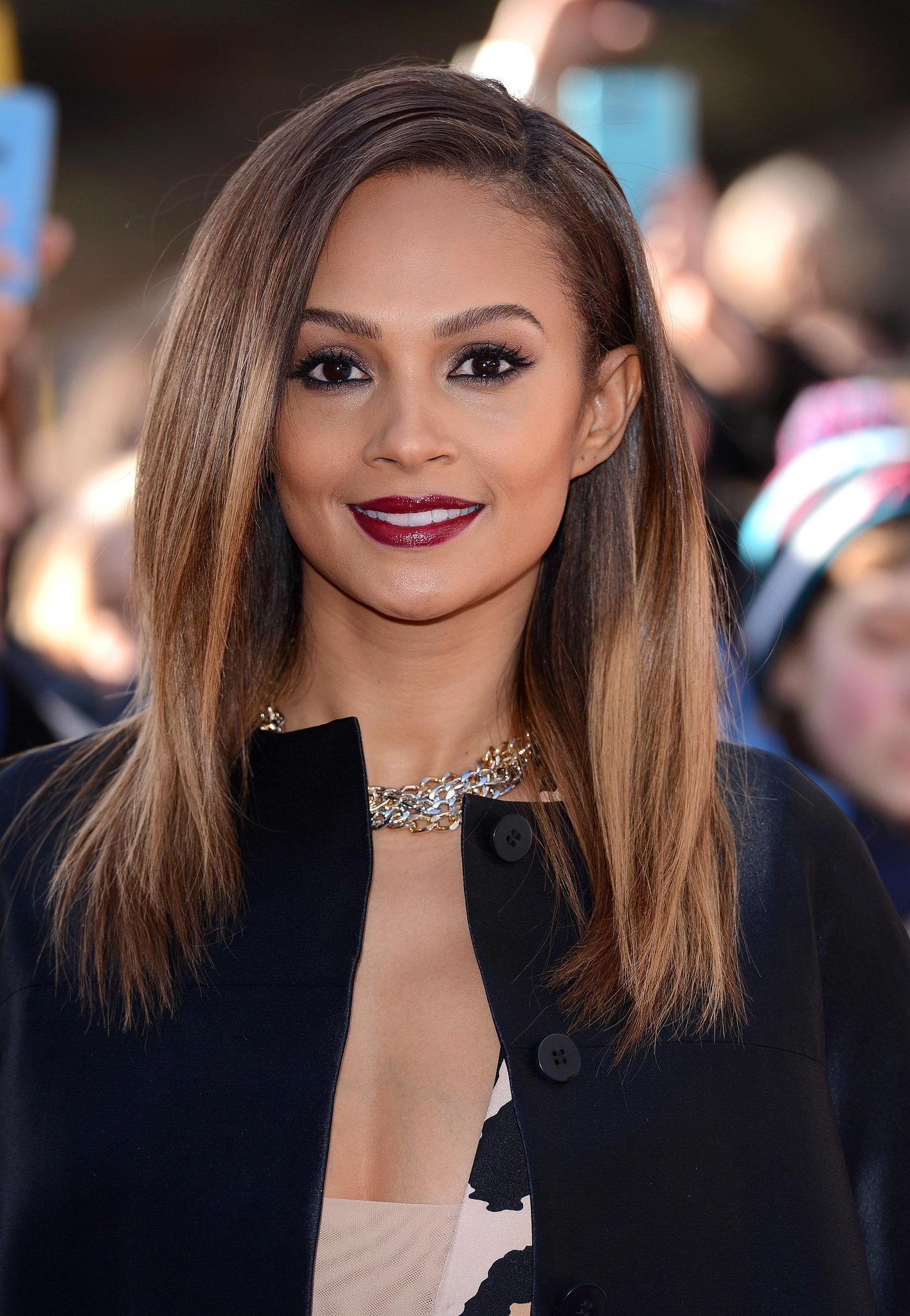 alesha dixon 30 celebrities who prove that long hair isn 39 t boring popsugar beauty uk. Black Bedroom Furniture Sets. Home Design Ideas