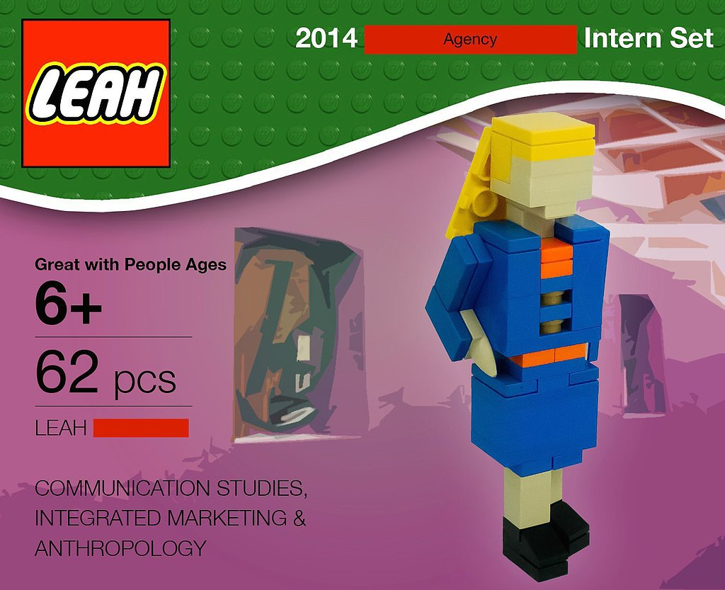 The Lego Résumé That Puts Everyone Else's to Shame