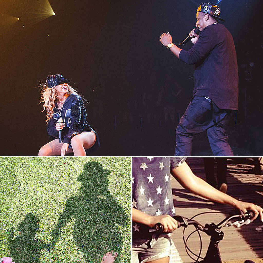 She Biked to Her Brooklyn Show and Hit the Stage With Jay