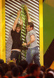 Steve Carell and Tobey Maguire tried to stop the slime in 2007.