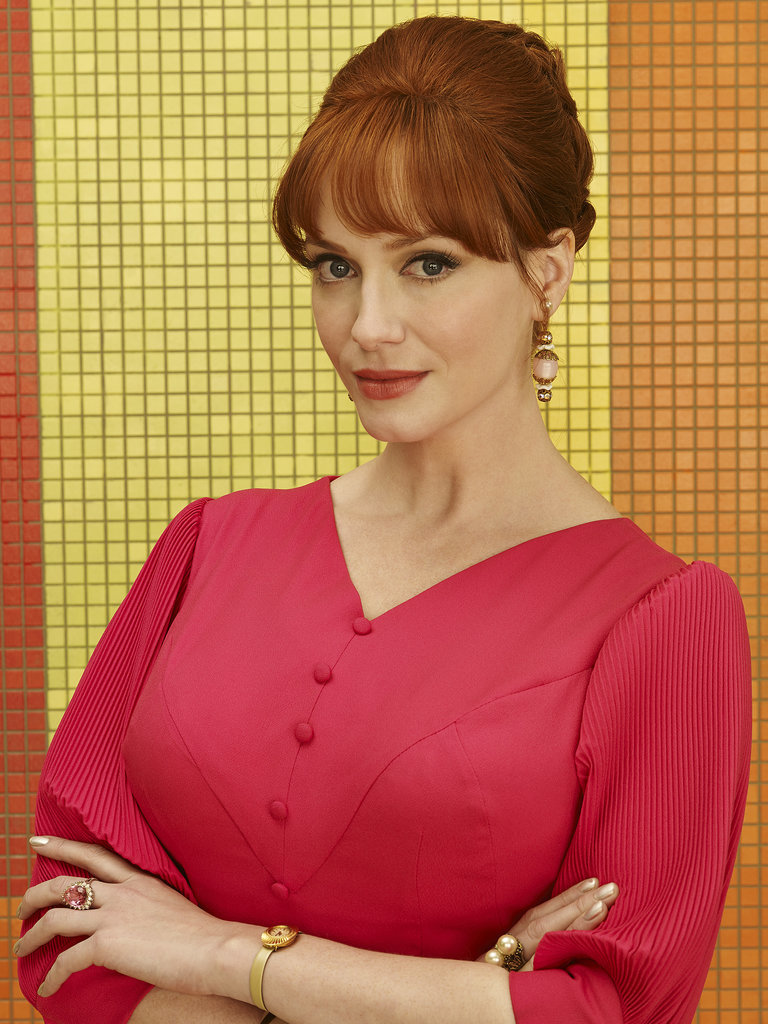Christina Hendricks as Joan Harris.