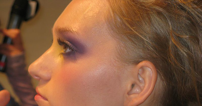 Backstage at Joanna Mastroianni Spring 2009