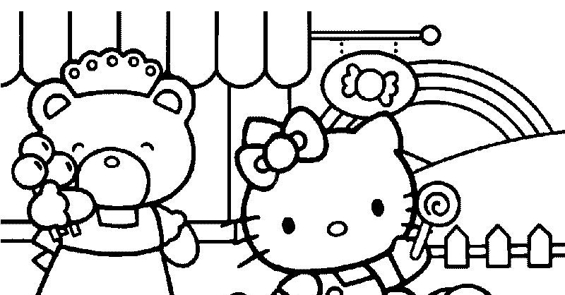 free coloring pages of ff hello kitty
