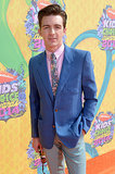 Drake Bell suited up for his turn down the red carpet.