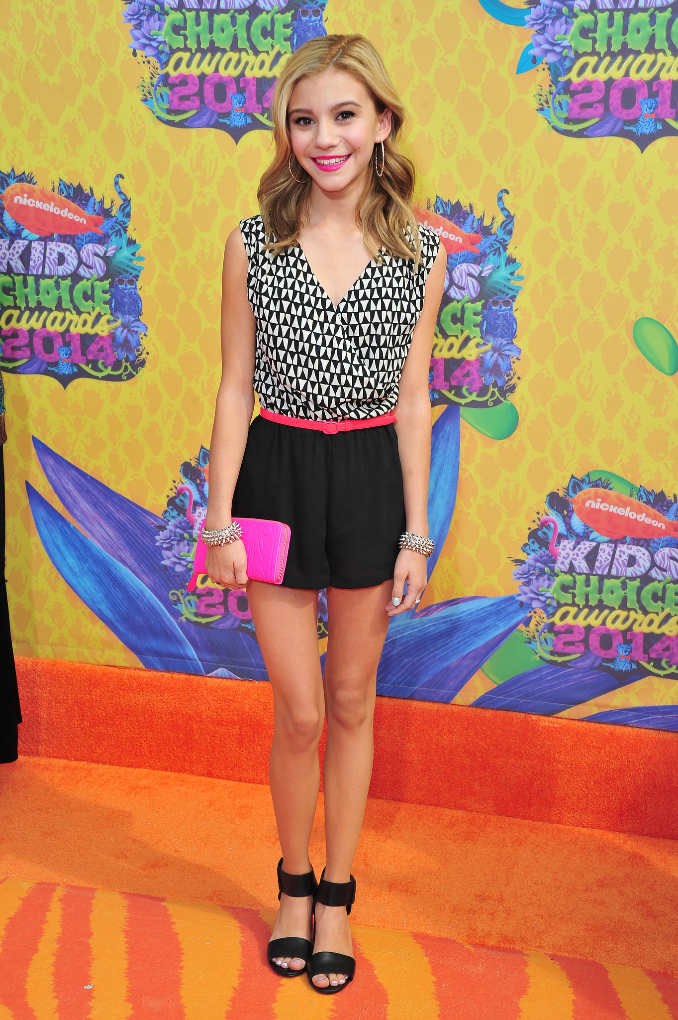 Genevieve Hannelius | All the Action (and All the Slime!) at the 2014 ...