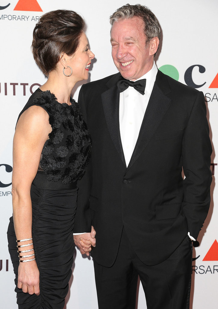 Tim Allen enjoyed a good laugh with his wife, Jane Hajduk.
