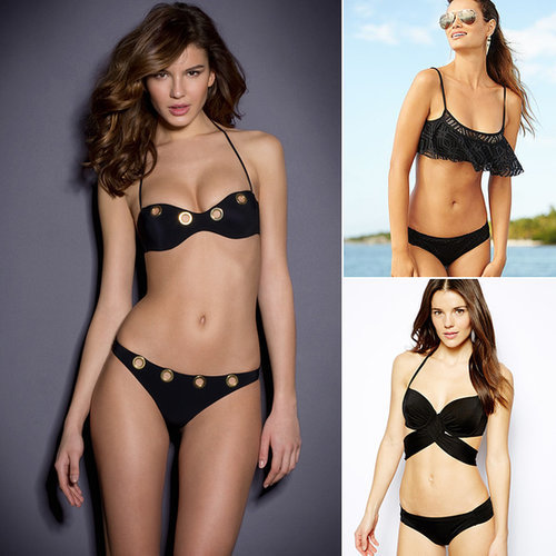 The Best Black Bikinis For Your Body Shape