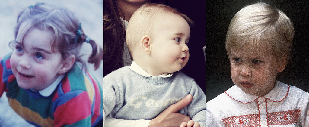 Royal Report: Prince George Looks Like His Mom — and Dad!