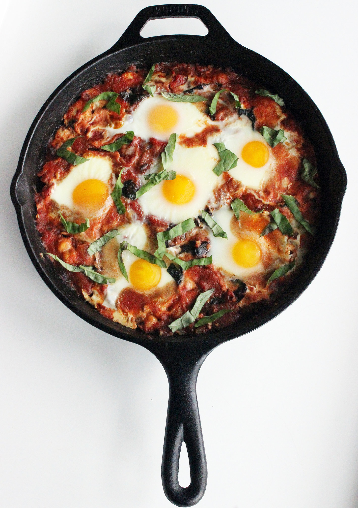 Healthy Baked Eggs in Tomato Sauce | POPSUGAR Fitness