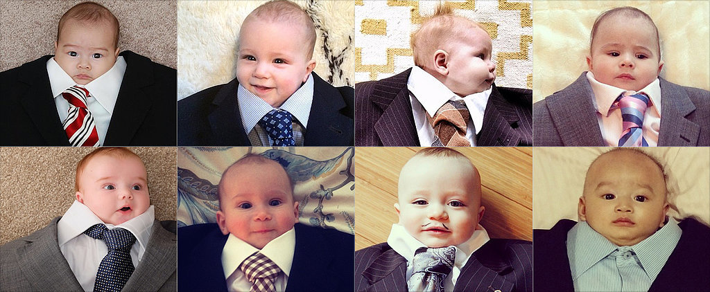 Why #BabySuiting Is Our New Favorite Hashtag