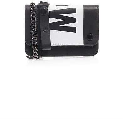 MCQ ALEXANDER MCQUEEN Chain leather wallet