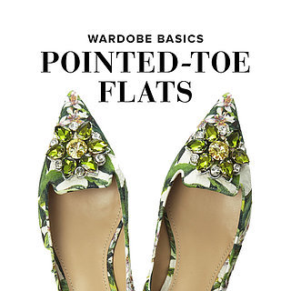 Polished Point-Toe Flats